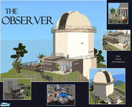Sims 2 — The Observer by laivine_erunyauve — Your space-mad sims will love living in this observatory! The Observer