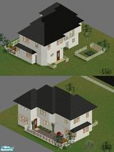 Sims 1 — Basic Family Crib by maraneedstogetalife — Furnished to cover every SIM\'s basic need. A good cost/comfort
