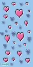 Sims 1 — Valentino\'s Vamoose The First by MasterCrimson_19 — These are my own set of Valentines day wall panels, I put