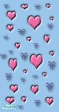 Sims 1 — Valentino\'s Vamoose The Second by MasterCrimson_19 — These are my own set of Valentines day wall panels, I put