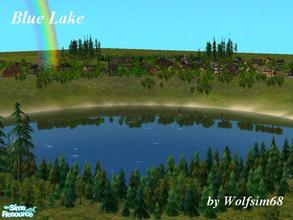 Sims 2 — Blue Lake by Wolfsim68 — This gorgeous setting is perfect for rustic living or an exclusive estate. With room