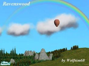 Sims 2 — Ravenswood by Wolfsim68 — This picturesque town is filled with tree lined streets. The layout features large