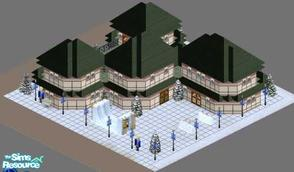 Sims 1 — Imperial Palace Resort by ladytimedramon — Once an imperial palace belonging to royalty, it is now an elegant