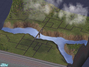 Sims 2 — Friton by alexandrescuradu_94 — A neighbourhood with a river running through it. Can\'t place beach lots.
