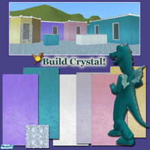 Sims 2 — evi2s  Build Crystal! by evi — Walls as magic aas crystal balls! You can create fairy lots, castles, glassy