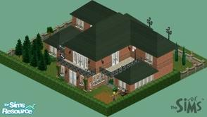 Sims 1 — Mini Mansion by CandyM@N —