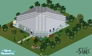 "Sims 1 — Futurama by CandyM@N — The ""House of the Future"", bla, bla, bla... Humm, this sounds ridiculous... ;)"