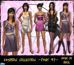 Sims 2 — Fashion Collection - part 97 - by BBKZ — It\'s time for disco fever! ... Based on real Disco Twist Collection at