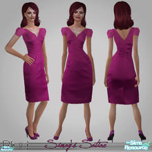 Sims 2 — Simay\'s Satine Dress by Blind — This dress is a gift to my lovely sis -Simsimay. She helped me a lot while I