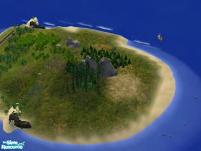 Sims 2 — Island Esme by csudibaba — Hey Twilight Fans! Here\'s the perfect Island of Esme, where Bella and Edward can