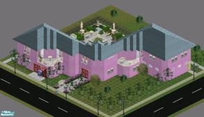 "Sims 1 — Sweet Streets: Hotel by diamondnell — This ""vanilla\"" series of houses and community lots is based on"
