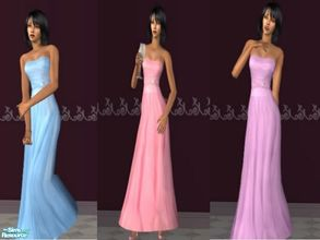 Sims 2 — 50s Princess Dresses by theangeliquemonte — This set features 3 stunning and elegant soft lavender,blue and