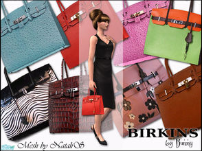 Sims 2 — Birkins by Bunny by BunnyTSR — To celebrate my Third Wedding Anniversary, which is traditionally associated with