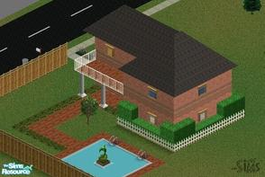 Sims 1 — (Lot 8) Enjoyable Home by R-bert — Are you rich enough to move out to a new place, but dont whant to expend to