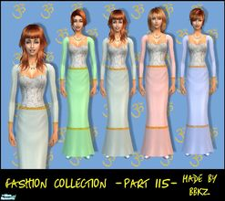 Sims 2 — Fashion Collection - part 115 - by BBKZ — Medieval style. Available as everyday and formal for YAs, adults and