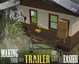 Sims 3 — Create-a-Trailer Kit by AppleFall — Creating your own trailer has never been easier. This set supplies you with