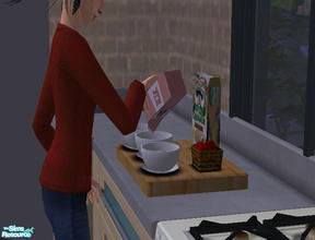 Sims 2 — Quaker Oats Brand Organic Oatmeal by punkrockbeezie7 — Now your Sims can have the yummy taste and healthier