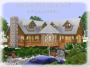 Sims 3 —  by lilliebou — Hi! This is a house in the snow and here are its rooms: -Kitchen/Dining room -Living room