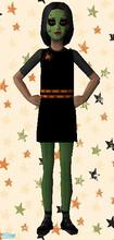 Sims 2 — Witch Costume by sinful_aussie — A cute Witch Costume for your girl sims!