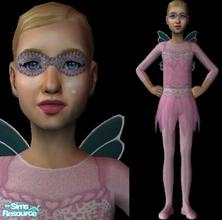 Sims 2 — Fairy Mask by sinful_aussie — A Cute Fairy Mask For Your Female Sims!