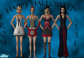 Sims 2 — Halloween Collection by st3fa — In these halloween costumes,your sims will sure win yhe costumes contest.Enjoy!