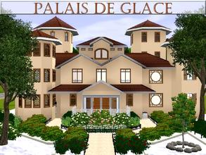 Sims 3 — Palais de Glace by lilliebou — Hi ! Here are some details about this house: First floor: -Two bedrooms -Living