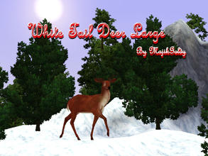 Sims 3 — MajikGoldys Deer Large Lawn Decor  by MajikGoldy — MajikGoldys Deer Large Lawn Decor Come see us at Dragoncats