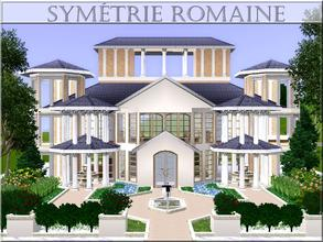 Sims 3 —  by lilliebou — Hi ! Here are some details about this house: First floor: -Two living rooms -Kitchen -Dining