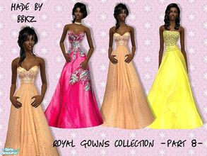 Sims 2 — Royal Gowns Collection - part 8 - by BBKZ — Based on ballgowns created by real designers. Available for