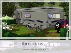 Sims 3 — The Caravan by madaya74 — Here is a caravan as a lot. It's a caravan for a family of four, but is really hard to