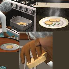 Sims 2 — Biscuits - Available All Day by TheNinthWave — It\'s biscuits for your sims! Fully animated food. I hope you