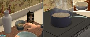 Sims 2 — Vintage Breakfast Foods - Quaker Oats by TheNinthWave — Vintage Quaker Oats from the 1900\'s.