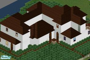 Sims 1 — Delicious Cottage by Alimatt — This lovely house reminds of a typical mountain cottage and it is perfect as a