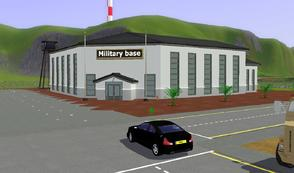 Sims 3 — Military Base HQ EP 2 by carlosfilipepedro — Military Base HQ for EP2 by Carlos @ S.I.M.S.