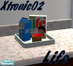 Sims 2 — Life cereal by xtronic02 — A new cereal option Life!