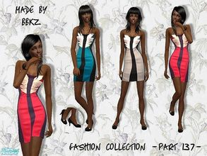 Sims 2 — Fashion Collection - part 137 - by BBKZ — Based on fashion designed by Karen Millen. Available as