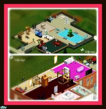 Sims 1 — Sunrise House by xniicolax — A nice family house for 2 adults and 1 child (girl) full decorated enjoy :)