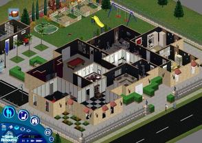 Sims 1 — The Big House [Lot 2] by Jaqueline_z — This is my first creation that I upload here, hope you like it :) This