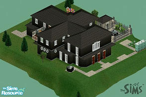 Sims 1 — The Pluginmanose Mini Mansion by MasterCrimson_19 — This lot\'s value is at about $219,078 $imoleons. The first