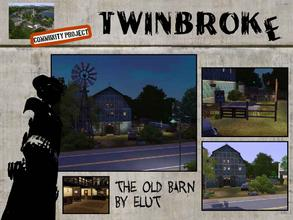 Sims 3 — Twinbroke - The old Barn Dance by Elut — Twinbroke Collection (Dive Bar). I used to be Old McDonalds farm, now