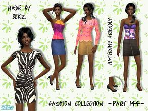 Sims 2 — Fashion Collection - part 144 - by BBKZ — Available as everyday/formal/maternity for YAs/adults. No EP required.