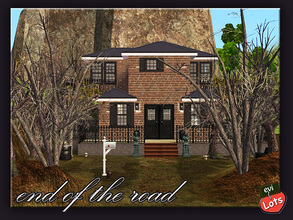 Sims 2 — evi2s  End oF The Road by evi — Happy Halloween!