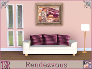 Sims 3 — Rendezvous by ziggy28 — A romantic painting by the artist Andrew Francis. Recolourable frame. TSRAA