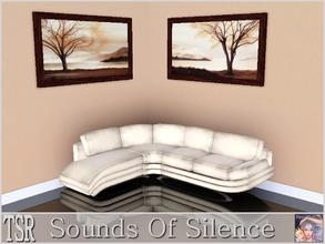Sims 3 — Sounds Of Silence by ziggy28 — Two paintings by the artist I Martinez. Recolourable frame. One file two
