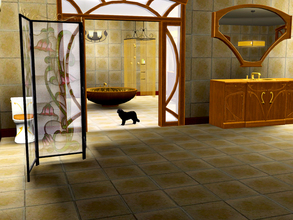 Sims 3 — Art Nouveau Bathroom by ShinoKCR — This is the last Part of the Art Nouveau Serie. You will now be able to