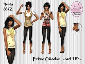 Sims 2 — Fashion Collection - part 162 - by BBKZ — Available as everyday for YAs/adults. Maternity friendly. No EP