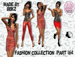 Sims 2 — Fashion Collection - part 164 - by BBKZ — Balmain inspired. Available as everyday/formal for YAs/adults.