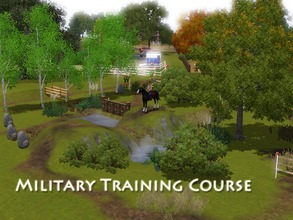 Sims 3 — Military Training Course by OldFellowRanch2 — McLain Military Training Course. 40x40