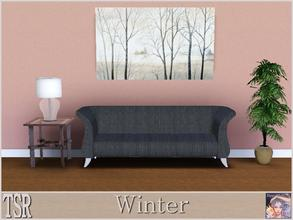 Sims 3 — Winter by ziggy28 — Winter by the artist Andres Seeufer. TSRAA