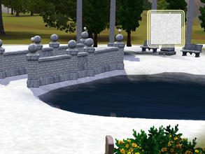 Sims 3 — (2sims3)terrain 10 frost by lurania — Created by www.2sims3.com,enjoy!